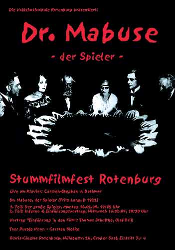 Dr. Mabuse poster