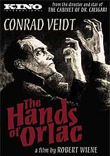 The Hands of Orlac DVD